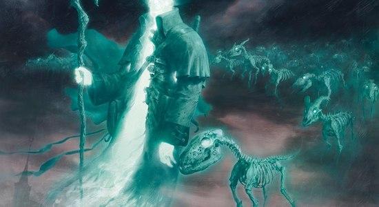 Spectral shepherd shadows over innistrad art