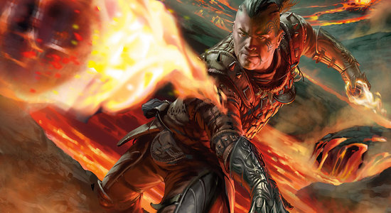 Firebolt shadows over innistrad art