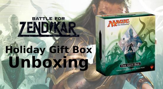 Holiday gift box unboxing youtube thumb