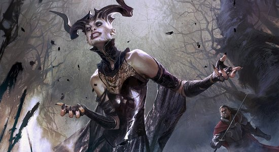 Accursed witch shadows over innistrad art