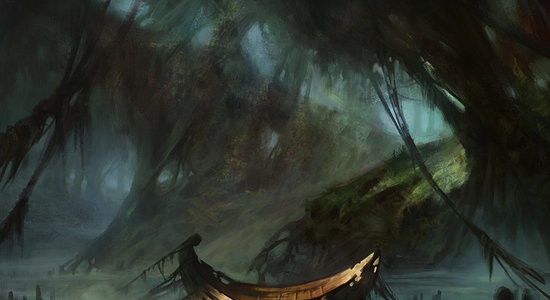 Swamp  normal innistrad  by adampaquette d6i1g1f