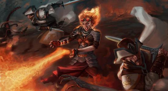 Image for Budget Magic: $53 (51 tix) Standard Alchemist Burn