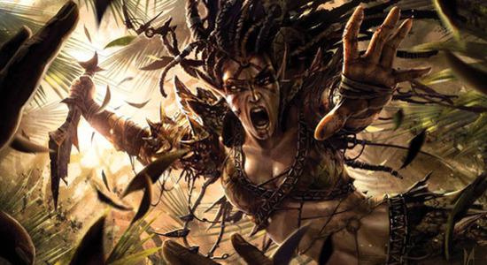 Bloodbraid elf eternal masters mtg art
