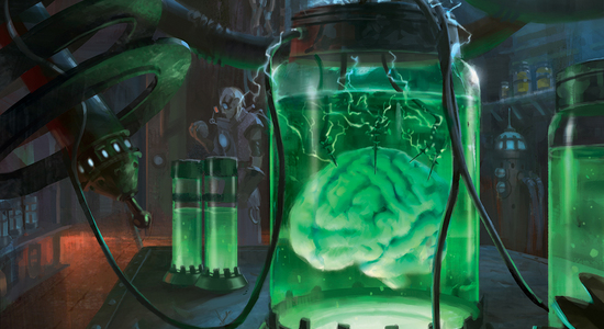 Image for Instant Deck Tech: Esper Brain Gifts (Modern)