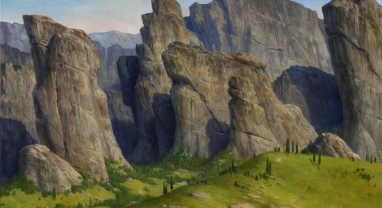 Mountain art theros