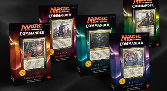 Image for Commander 2016 Info and First Impressions