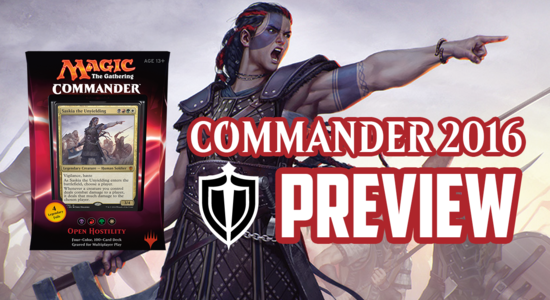 Image for Commander 2016 Preview: Open Hostility (Saskia the Unyielding)