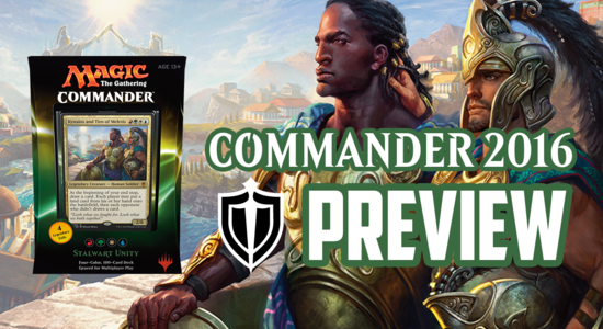 Image for Commander 2016 Preview: Stalwart Unity (Kynaios and Tiro of Meletis)