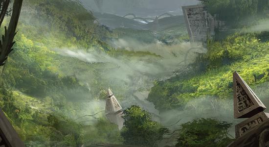 Canopy vista expeditions battle for zendikar mtg art