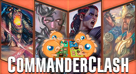 Image for Commander Clash S2 Episode 17: Commander 2016 Preconstructed Decks