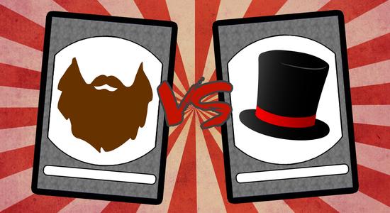 Thisorthat beards vs hats