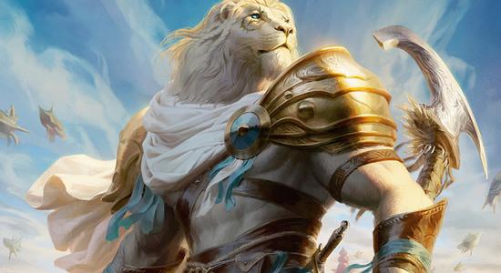 Ajani valiant protector