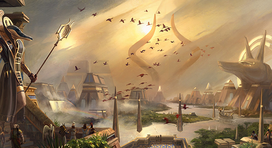 Image for Amonkhet In-Store Play Updates & Foil Promo Full-Art Lands