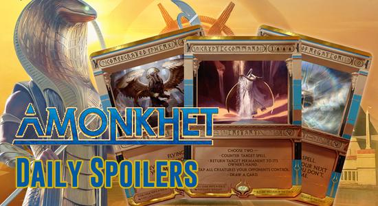 Image for Amonkhet Spoilers 3/28 — New Masterpiece Card Frames