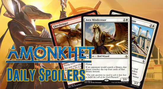 Image for Amonkhet Spoilers 3/30 — Aven Mindcensor