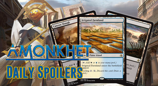 Image for Amonkhet Spoilers 3/31 — Fetchable, Cycling Dual Lands