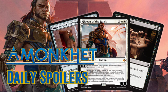 Image for Amonkhet Daily Spoilers — April 5, 2017 | INSANE GIDEON