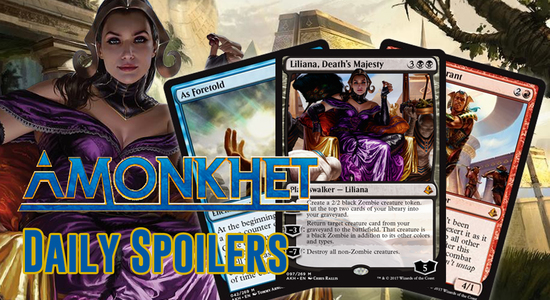 Image for Amonkhet Daily Spoilers — April 6, 2017 | NEW Liliana, Death's Majesty