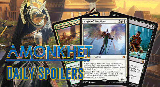 Image for Amonkhet Daily Spoilers — April 7, 2017 | Mythic Zombie Angel