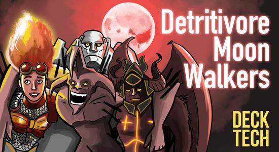 Image for Instant Deck Tech: Detritivore Moon Walkers (Modern)