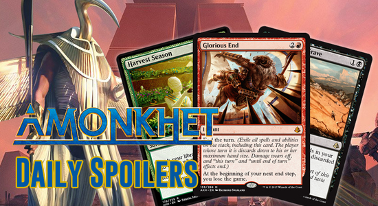 Image for Amonkhet Daily Spoilers — April 13, 2017 | EXCLUSIVE PREVIEW Glorious End