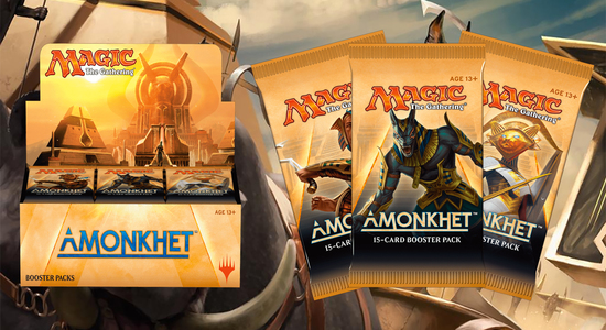 Amonkhet unboxing video