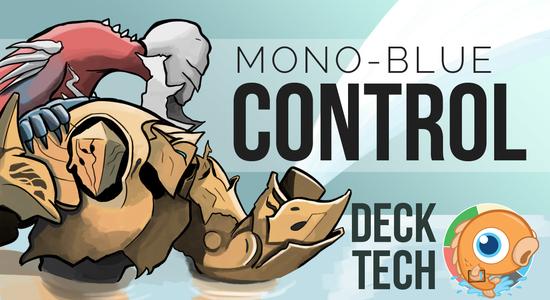 Image for Instant Deck Tech: Mono-Blue Control (Standard)