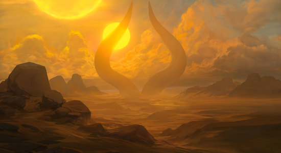 Noah bradley approach of the second sun