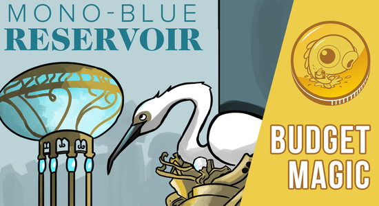 Image for Budget Magic: $23 (11 tix) Mono-Blue Reservoir (Standard)