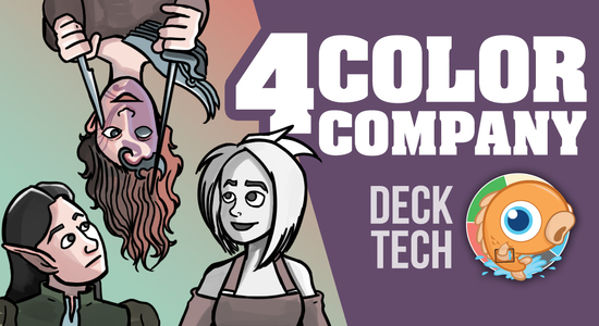 Image for Instant Deck Tech: Four-Color Company (Legacy)