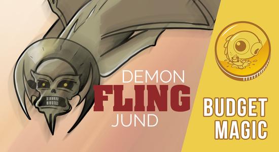 Image for Budget Magic: $91 (31 tix) Demon Fling Jund (Standard)