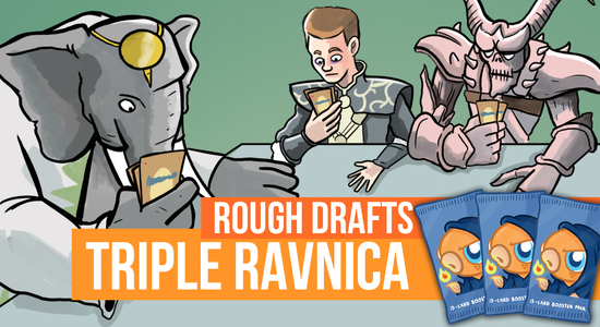 Image for Rough Drafts: Triple Ravnica