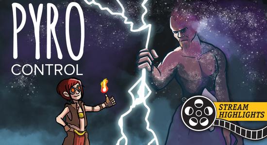 Pyro control stream highlights