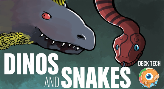 Image for Instant Deck Tech: Dinos and Snakes (Standard)