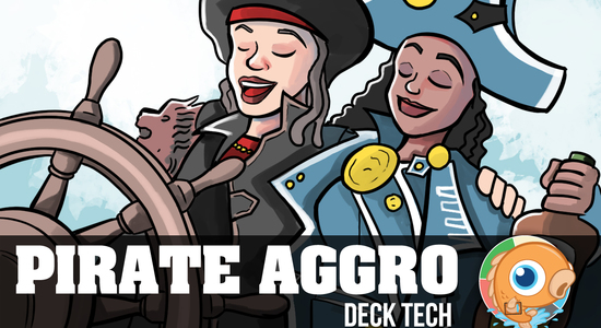 Image for Instant Deck Tech: Pirate Aggro (Standard)