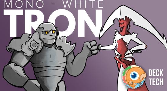 Image for Instant Deck Tech: Mono-White Tron (Modern)