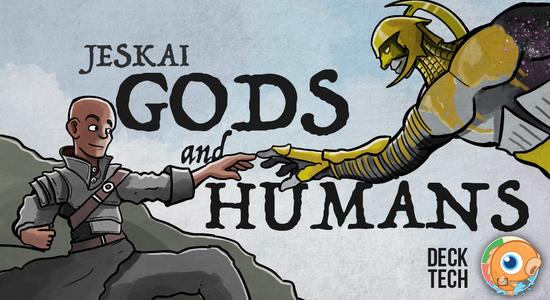 Image for Instant Deck Tech: Jeskai Gods and Humans (Modern)