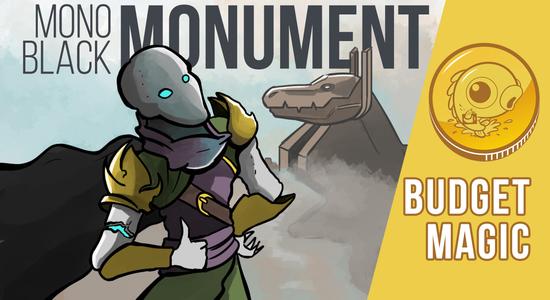 Image for Budget Magic: $93 (20 tix) Mono-Black Monument (Standard)