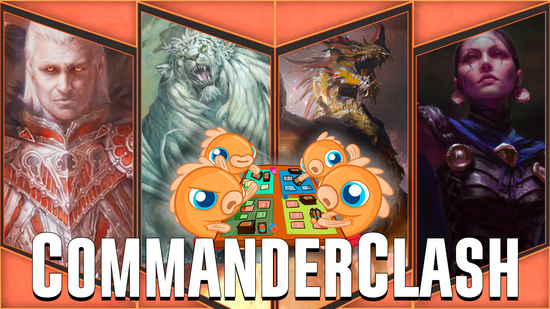 Image for Commander Clash S4 Episode 8: C17 Precons! (Arcane Wizardry, Draconic Domination, Feline Ferocity, Vampiric Bloodlust)