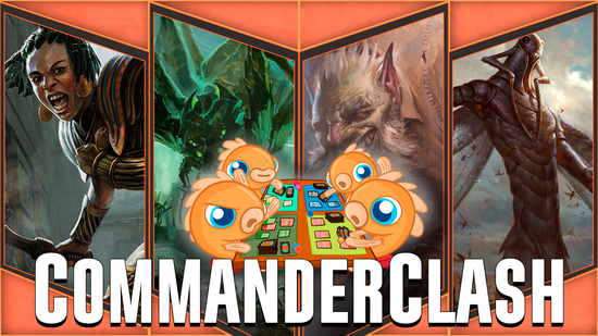 Image for Commander Clash S4 Episode 9: Commander VS Crossover! (Grenzo vs Ishkanah vs Samut vs The Locust God)