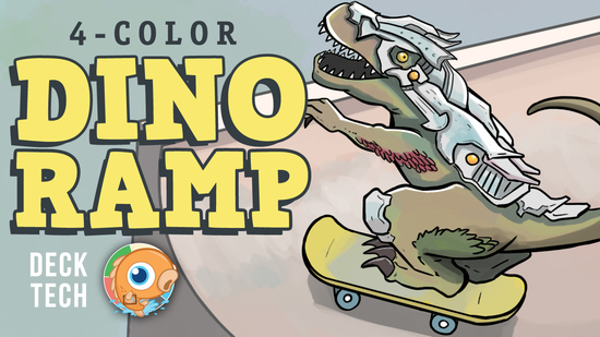 Image for Instant Deck Tech: Four-Color Dino-Ramp (Standard)