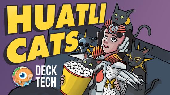 Image for Instant Deck Tech: Huatli Cats (Standard)
