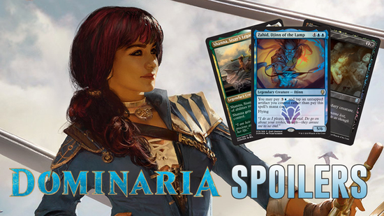 Image for Dominaria Spoilers — March 22, 2018 | Promos