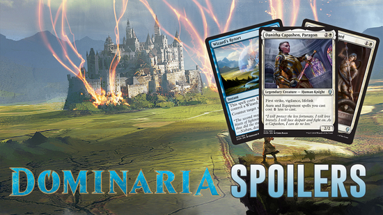 Image for Dominaria Spoilers — March 26, 2018 | Throwbacks to Some Classics