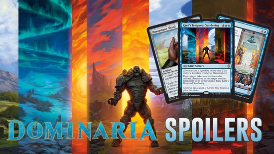 Image for Dominaria Spoilers — March 30, 2018 | Karn's Temporal Sundering