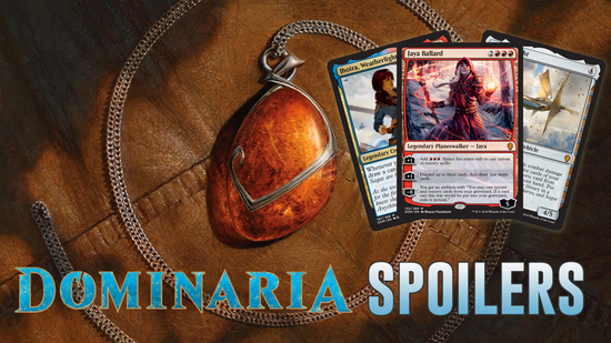 Image for Dominaria Spoilers — April 2, 2018 | Jaya Ballard, Teferi, and the Weatherlight!