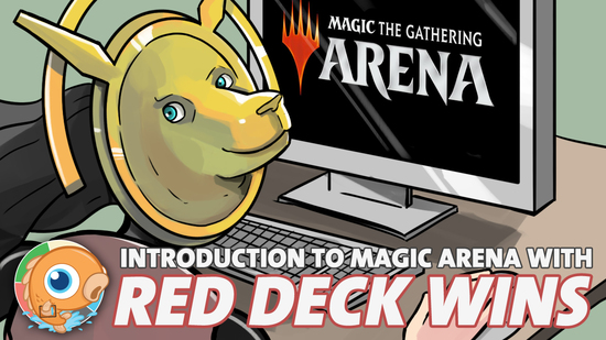 Image for Introduction to Magic Arena with Red Deck Wins