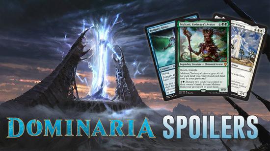 Image for Dominaria Spoilers — April 9, 2018 | Multani Returns!