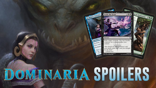 Image for Dominaria Spoilers — April 11, 2018 | Saproling Tribal and Liliana finally Settles the Score!