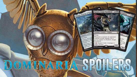 Image for Dominaria Spoilers — April 12, 2018 |  The Complete Spoiler